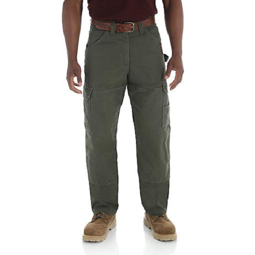 WRANGLER Riggs Workwear Ripstop Ranger Loden Cargo Pants Men