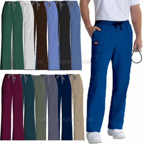 Dickies Scrub Pants Mens Youtility Medical Scrubs Drawstring