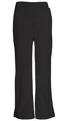 Dickies Scrubs Mid-Rise Women's Cargo Pants 86206 Black BLWZ