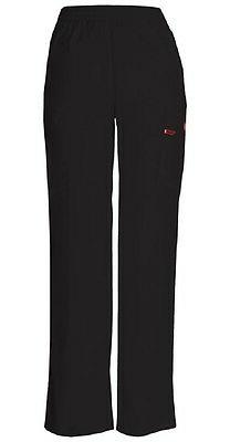 Dickies Scrubs Pull-on Elastic Waist Cargo Pant 86106 Black