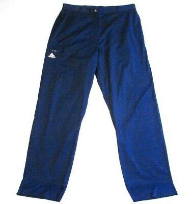 Adidas Signature Navy Blue Un Hemmed Cargo Pants Men's 32 Wa