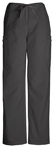 Cherokee Men's Slash-Pockets Drawstring Cargo Pant_Black_XXX