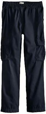 The Children's Place Boys Slim Size His Pull-On Cargo Pants,