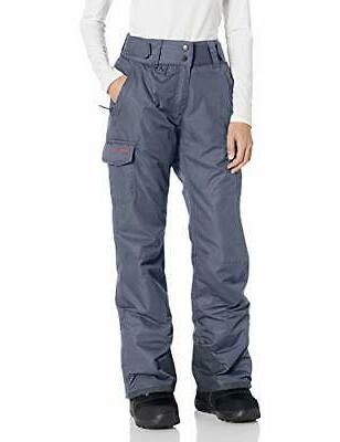 Arctix Women's Snowsport Cargo Pants, Small, Steel