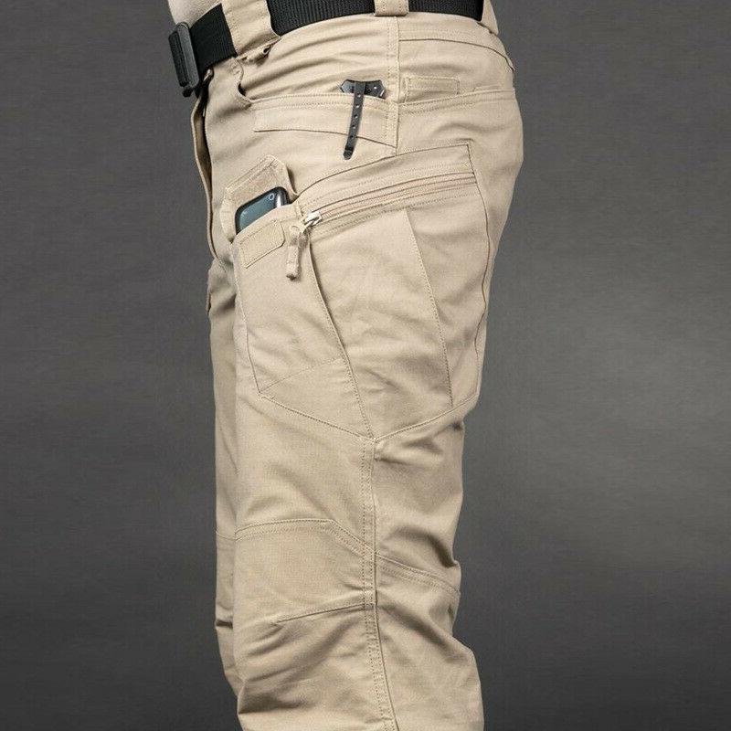 Soldier Waterproof Pants Men Cargo Pants Combat