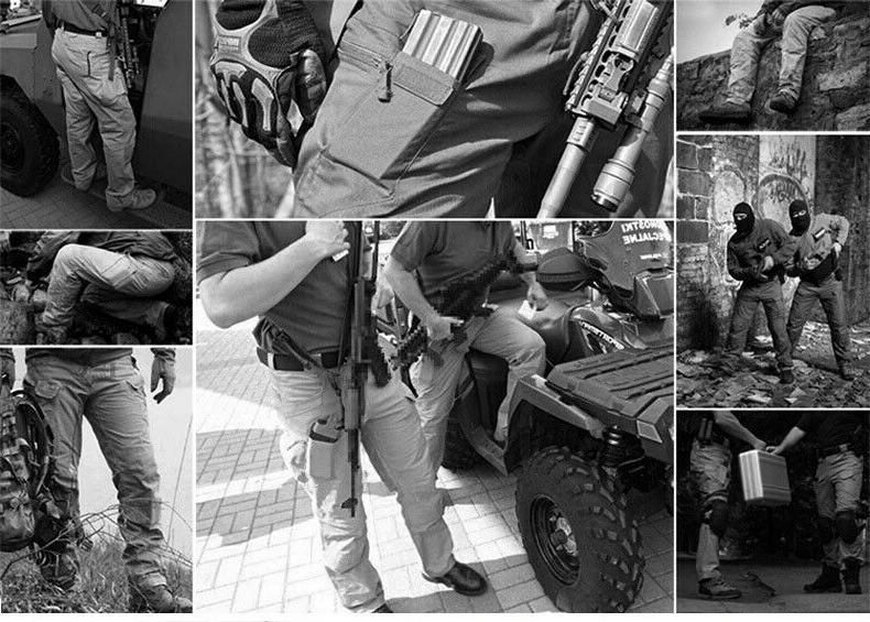 Soldier Waterproof Pants Men Cargo Combat Hiking Outdoor ORIGINAL