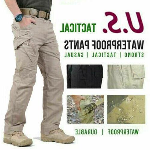 soldier tactical waterproof pants mens cargo casual
