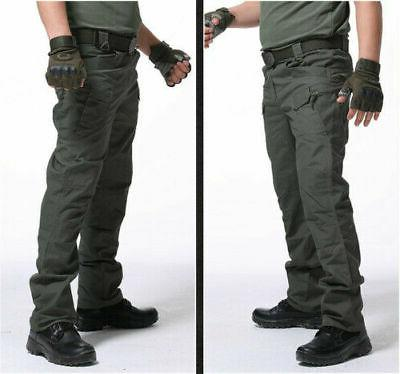Soldier Tactical Waterproof Trousers Men Hiking