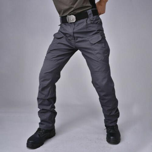 Soldier Waterproof Trousers Men Cargo Pants Hiking