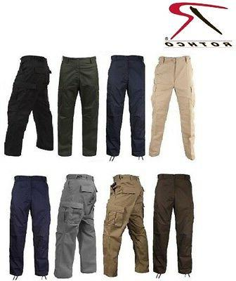 solid colors 6 pocket military tactical poly