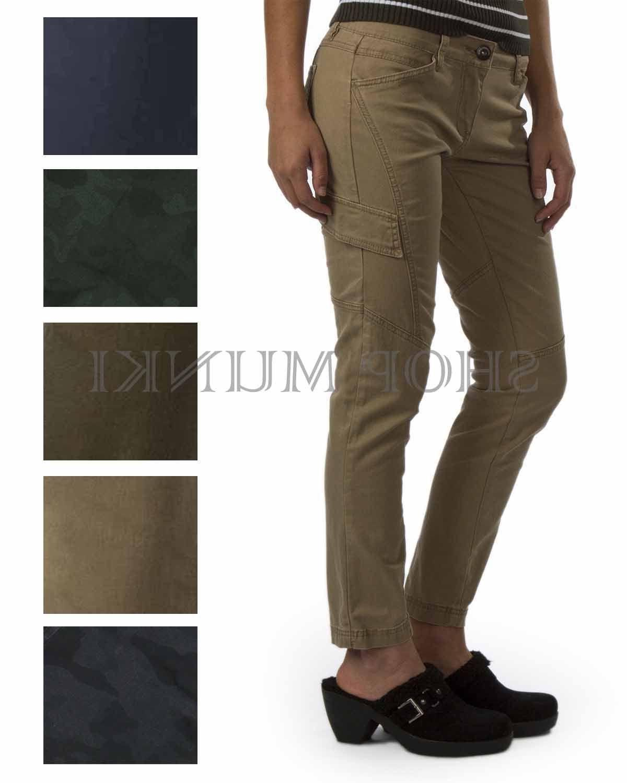Supplies by Unionbay Women's Skinny Stretch Cargo Pants