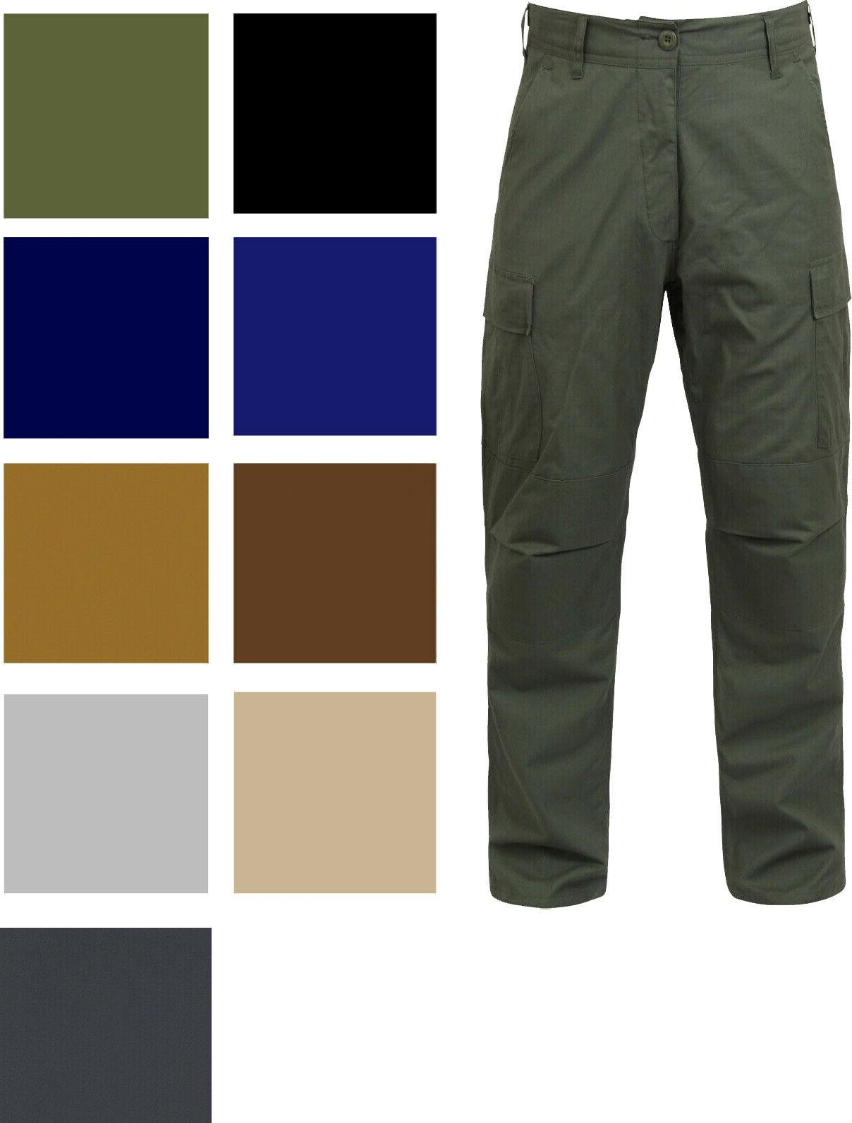 tactical bdu cargo pants military uniform trousers