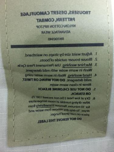 Tactical BDU Pants Cargo 6-Pocket Issue Lot