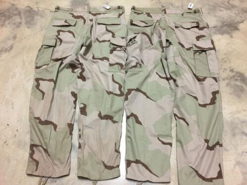 Tactical Cargo Camouflage Military Issue Lot 2 Pair
