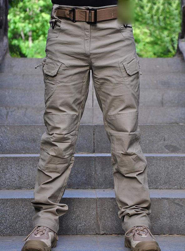 Men Tactical Pants Military Army Cargo Security Combat Hikin