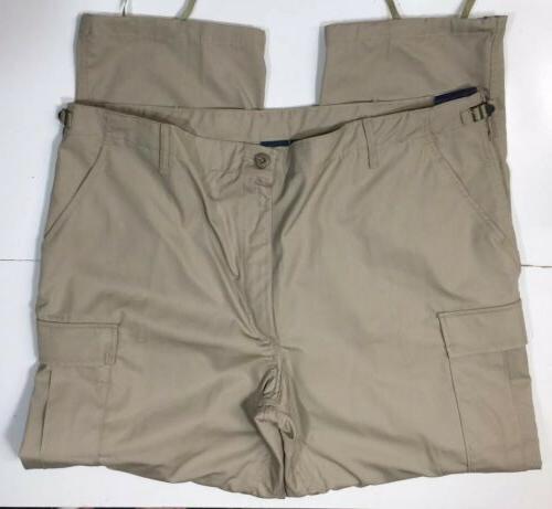 Propper Tactical Ripstop Cargo Pants Khaki Tan Uniform