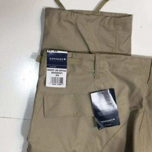 Propper Ripstop Pants Tan Uniform Cargo 60/40