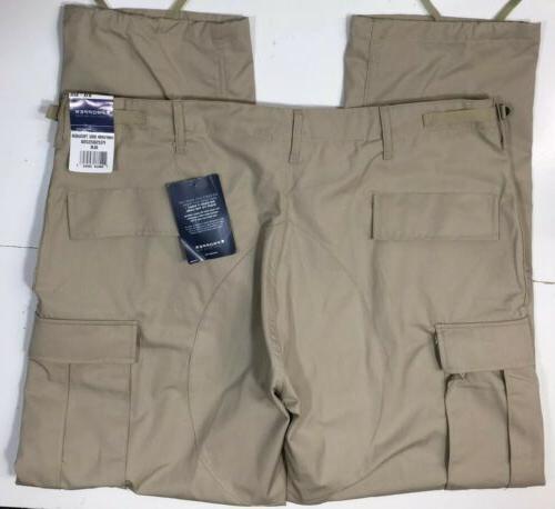 tactical ripstop cargo pants khaki tan 42x32