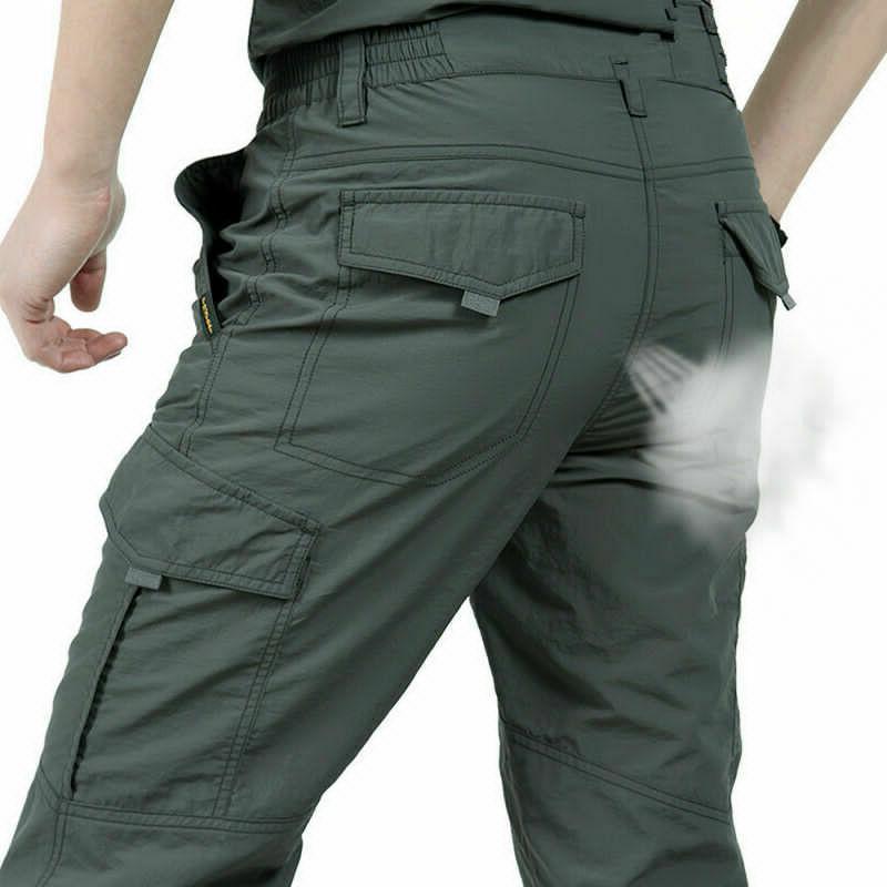 Men's Tactical Pants Combat Quick-dry Lightweight Waterproof