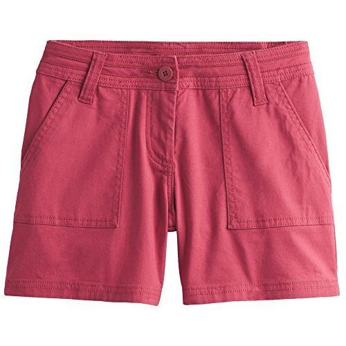 tess 3 inseam shorts crushed cran size