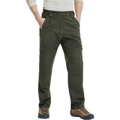 CQR Lightweight Ripstop EDC Tactical Pants Green