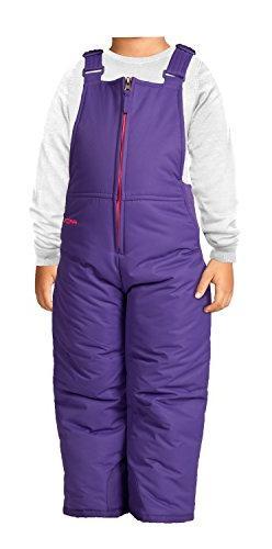 Arctix Infant/Toddler Insulated Snow Bib Overalls,Purple,2T