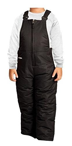 Arctix Infant/Toddler Insulated Snow Bib Overalls,Black,4T