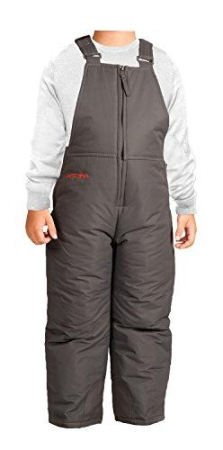 Arctix Infant/Toddler Insulated Snow Bib Overalls,Charcoal,3