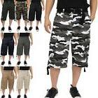 PROCLUB TWILL CARGO SHORTS Casual Pants Mens High Quality Au