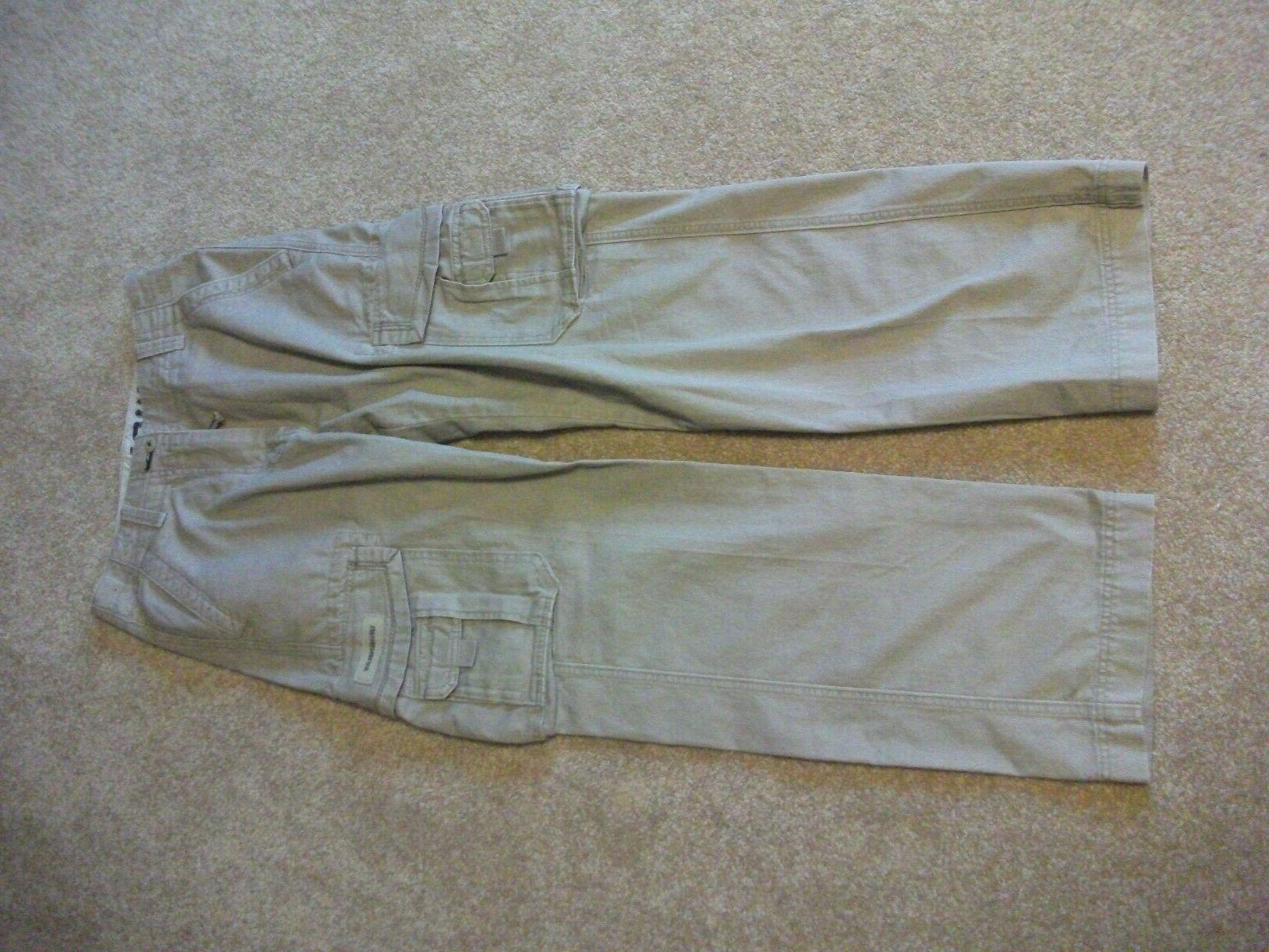 union bay mens cargo pants 30 x