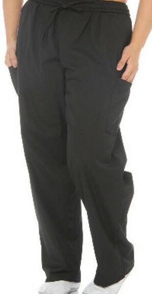 Unisex Cargo Pockets Scrub Pants - Medical Uniform Unisex Pa