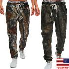 US Men Army Camo Cargo Combat Military Trousers Camouflage L