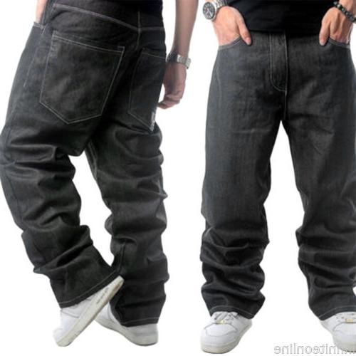 Baggy Denim Hip-Hop Rap Trousers