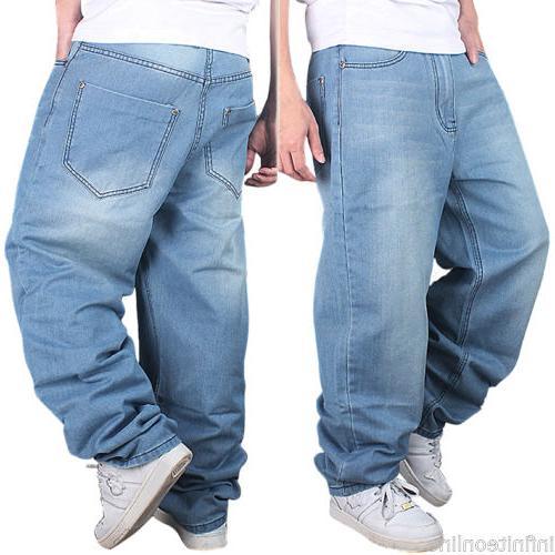 US Jeans Baggy Denim Hip-Hop Trousers