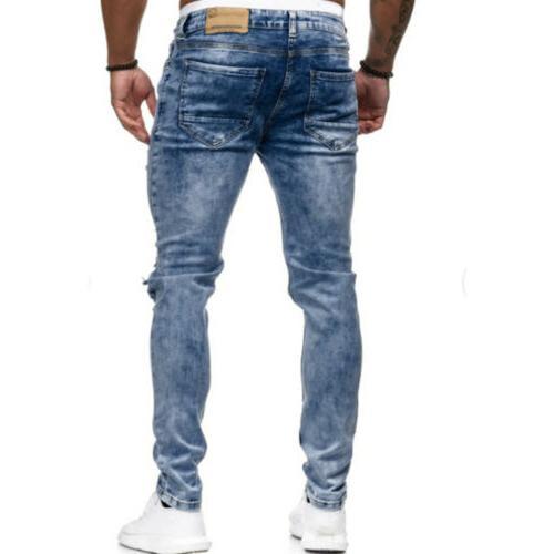 Skinny Trousers Slim Pants