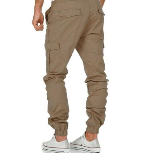 US Casual Trousers Multi Pocket Jogger Joggers