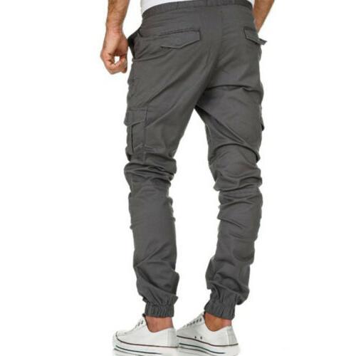 US Mens Pants Jogger Slim Joggers