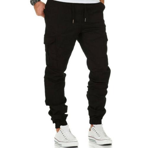 Trousers Multi Pocket Cargo Jogger Slim Joggers