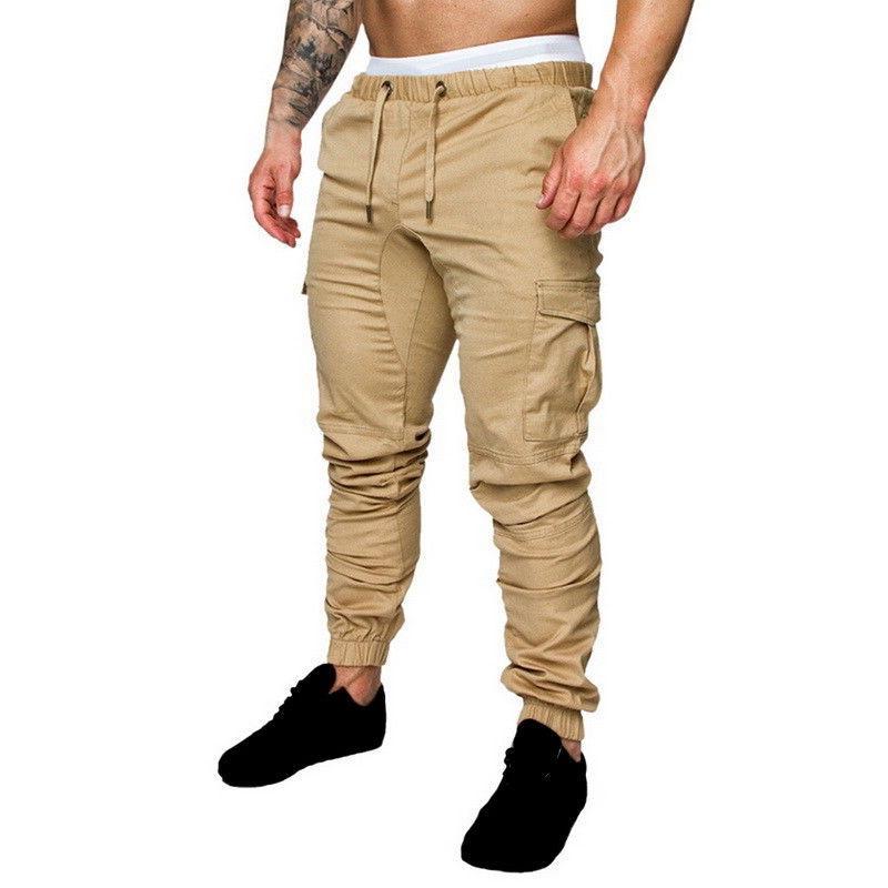 US Mens Slim Fit Casual Pencil Pants