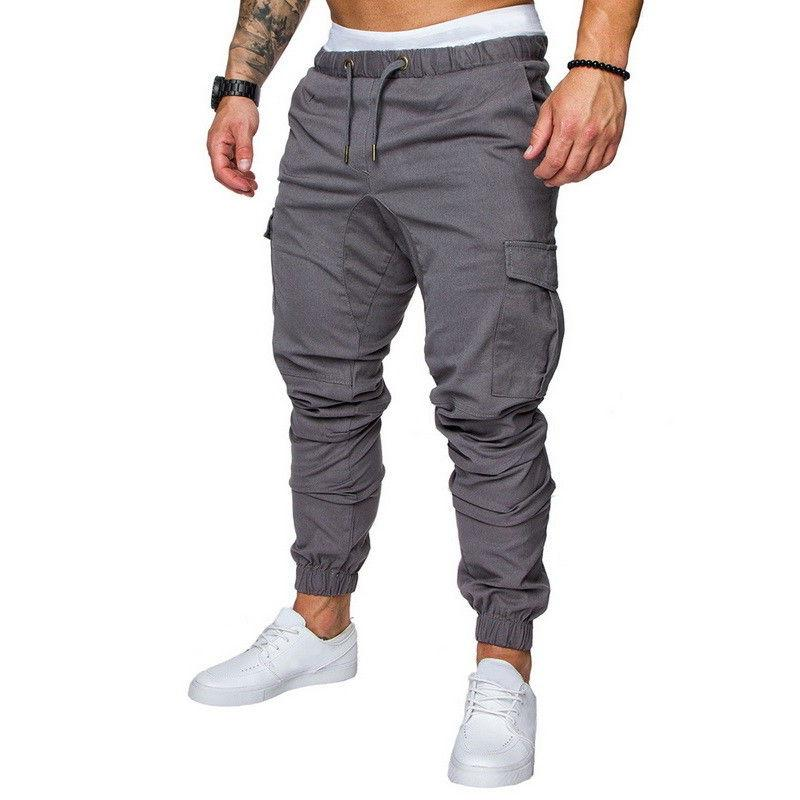 US STOCK Fit Casual Pencil Cargo Pants SP