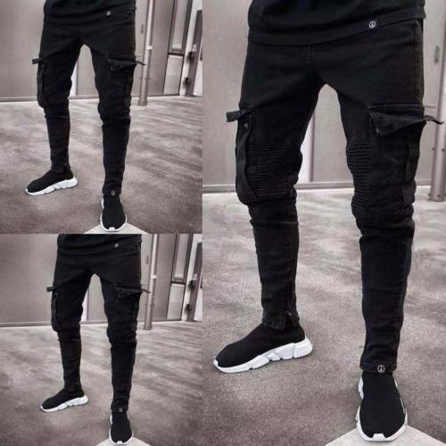usa men s skinny jeans destroyed frayed