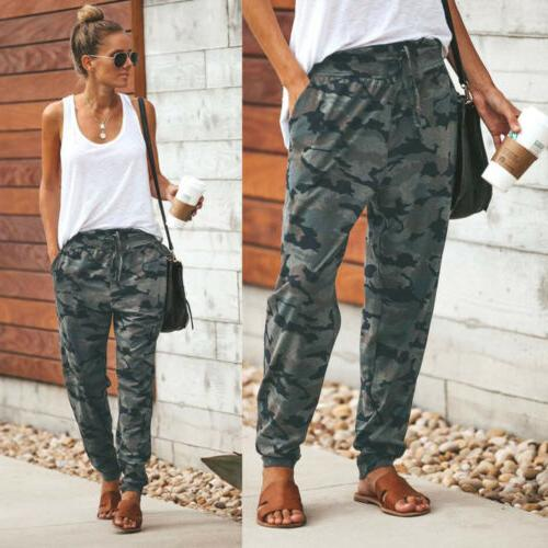 USA Harem Camouflage Loose Casual Trousers