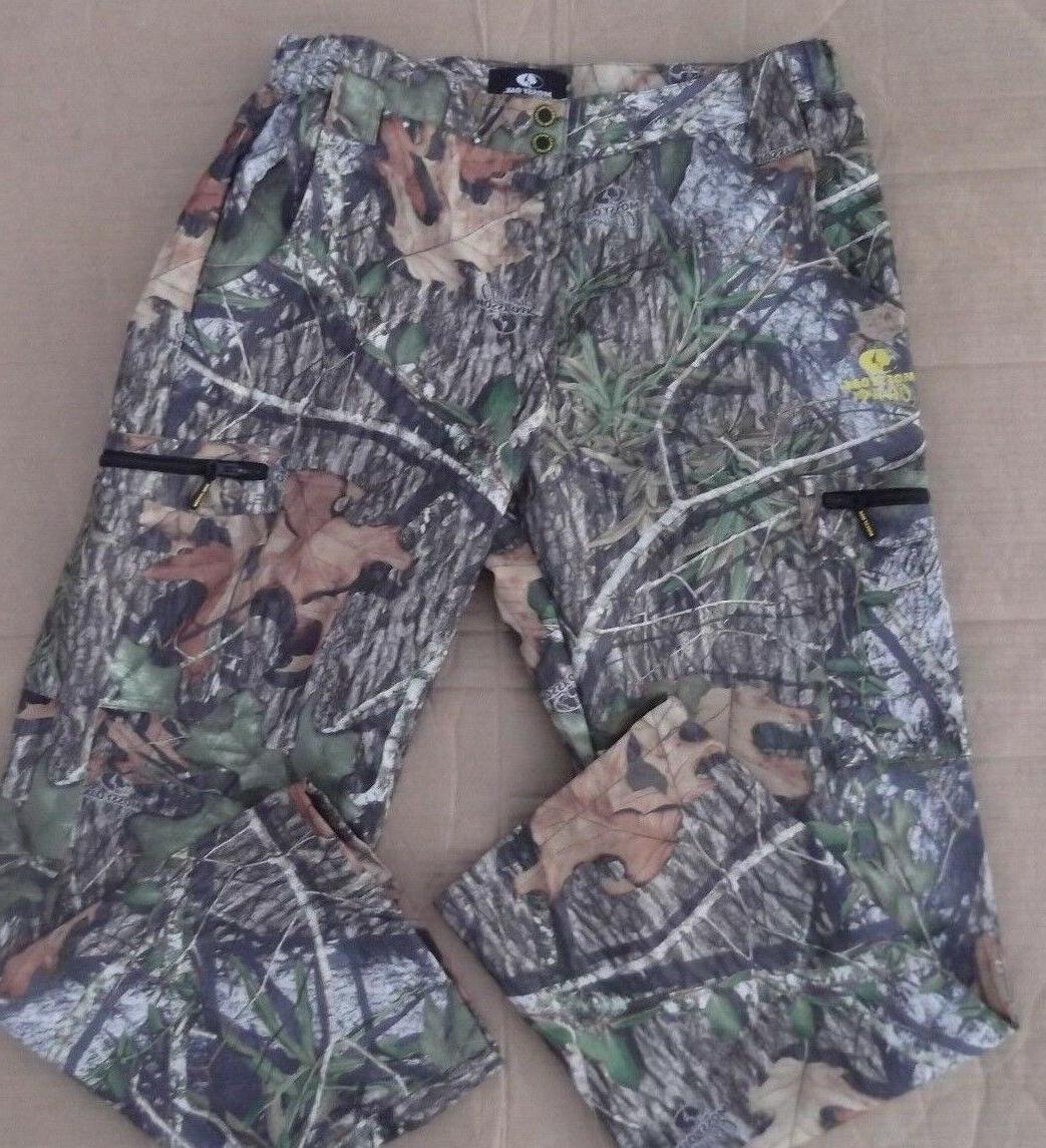 MOSSY OAK utility cargo pants Mens size L camo fishing hunti