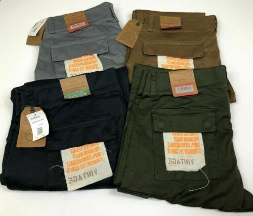 Weatherproof Vintage Mens Cargo Pants Easy Motion Stretch Va