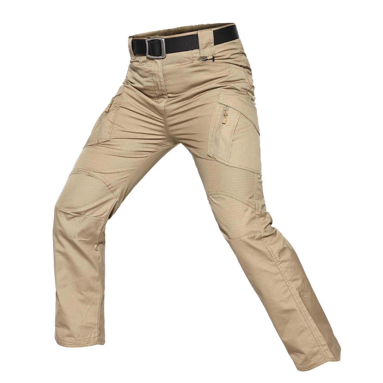 Waterproof Military Style <font><b>Cargo</b></font> <font><b>Men</b></font> Cotton IX9 zipper Combat Size