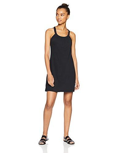 women s cantine dress black small