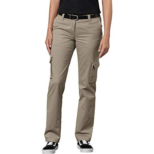 women s relaxed fit stretch cargo straight