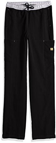 WonderWink Women's Size Four-Stretch Straight Leg Scrub Pant