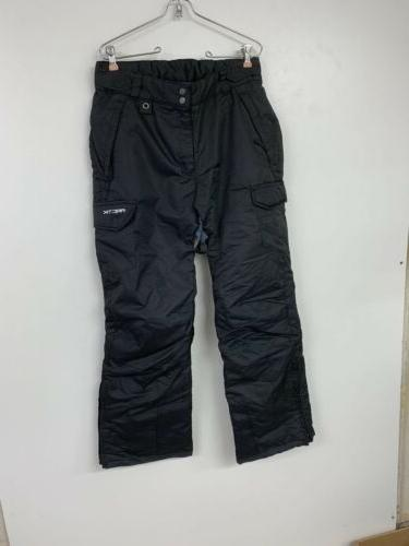 women s snow sports cargo pants black