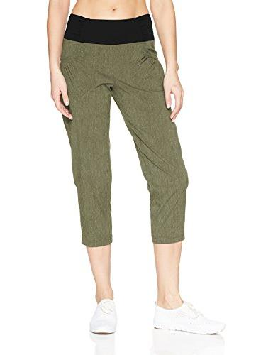 women s summit capri large cargo green